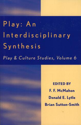 Cover image for the book Play: An Interdisciplinary Synthesis