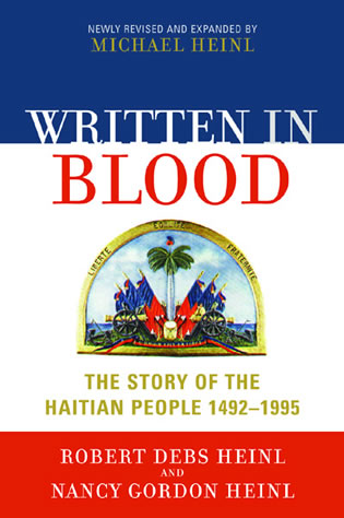 Cover image for the book Written in Blood: The Story of the Haitian People 1492-1995, newly revised edition