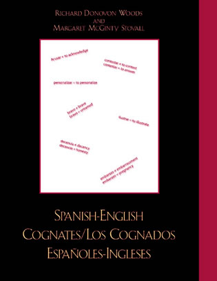 Cover image for the book Spanish-English Cognates / Los Cognados Espa-oles-Ingleses