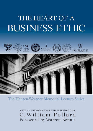 Cover image for the book The Heart of A Business Ethic