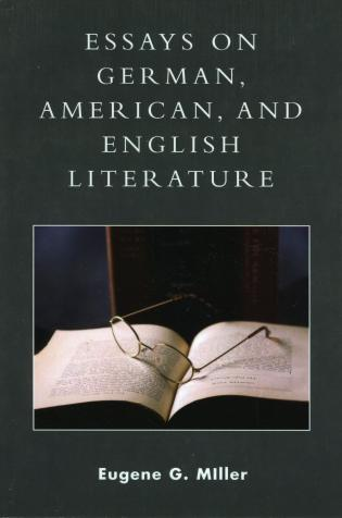 Essays On German American And English Literature A Philosophical  Essays On German American And English Literature