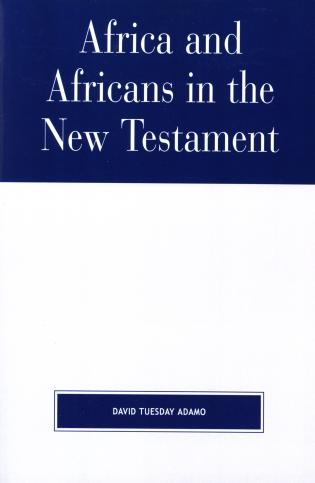 Cover image for the book Africa and Africans in the New Testament