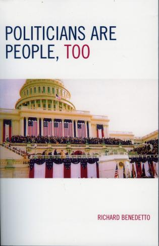 Cover image for the book Politicians Are People, Too