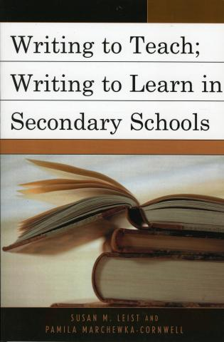 Cover image for the book Writing to Teach; Writing to Learn in Secondary Schools