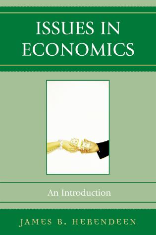 Cover image for the book Issues in Economics: An Introduction
