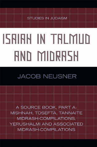 Cover image for the book Isaiah in Talmud and Midrash: A Source Book, Part B