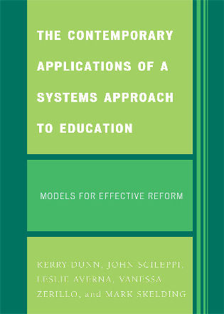 Cover image for the book The Contemporary Applications of a Systems Approach to Education: Models for Effective Reform