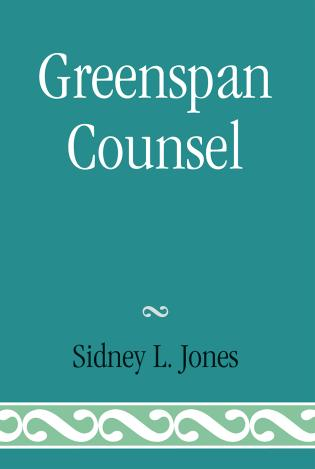 Cover image for the book Greenspan Counsel
