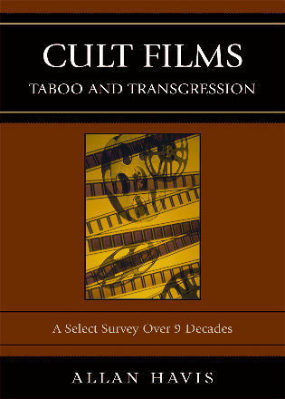 Cover image for the book Cult Films: Taboo and Transgression