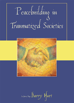 Cover image for the book Peacebuilding in Traumatized Societies