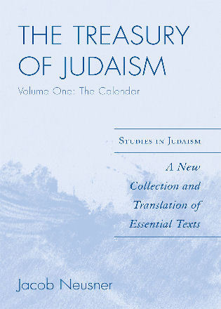 Cover image for the book The Treasury of Judaism: A New Collection and Translation of Essential Texts, 1st Edition
