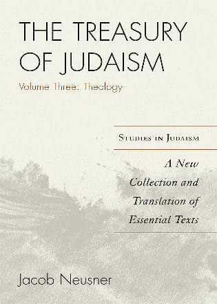 Cover image for the book The Treasury of Judaism: A New Collection and Translation of Essential Texts, 3rd Edition
