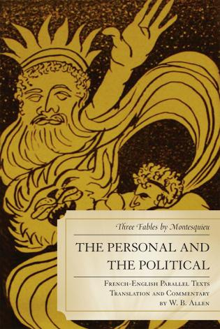 Cover image for the book The Personal and the Political: Three Fables by Montesquieu