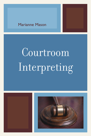 Cover image for the book Courtroom Interpreting