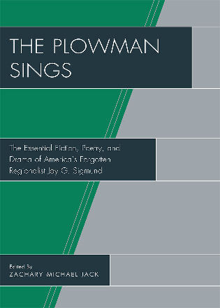Cover image for the book The Plowman Sings