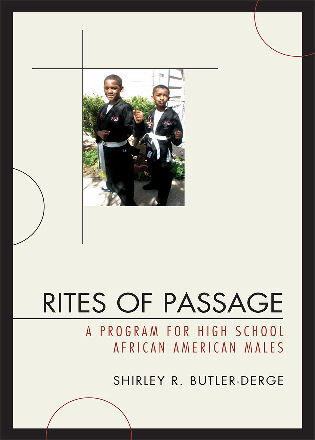 Cover image for the book Rites of Passage: A Program for High School African American Males