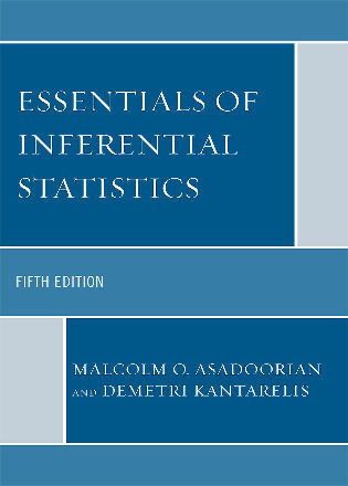 Cover image for the book Essentials of Inferential Statistics, 5th Edition