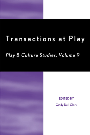Cover image for the book Transactions at Play, Volume 9