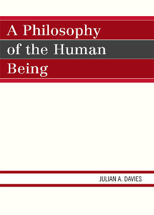 Cover image for the book A Philosophy of the Human Being