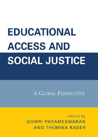 Cover image for the book Educational Access and Social Justice: A Global Perspective