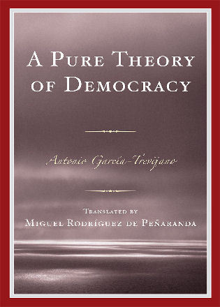 Cover image for the book A Pure Theory of Democracy