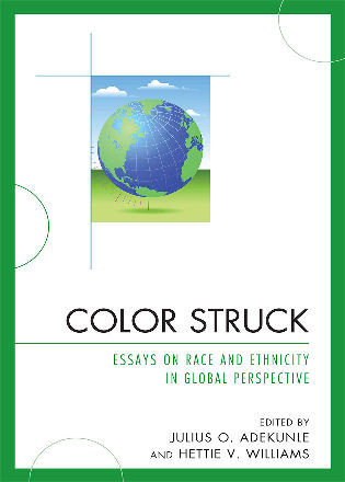 Cover image for the book Color Struck: Essays on Race and Ethnicity in Global Perspective