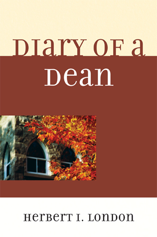 Cover image for the book Diary of a Dean