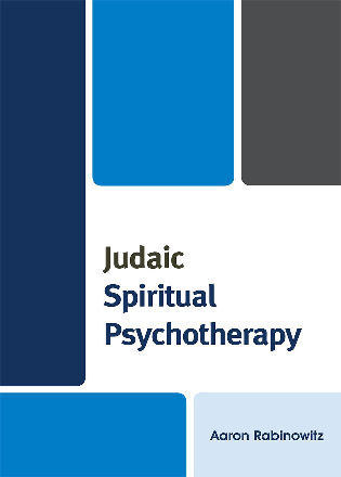 Cover image for the book Judaic Spiritual Psychotherapy