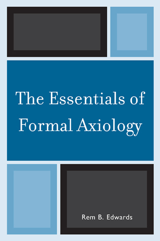 Cover image for the book The Essentials of Formal Axiology