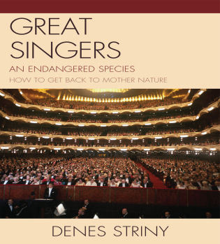 Cover image for the book Great Singers: An Endangered Species