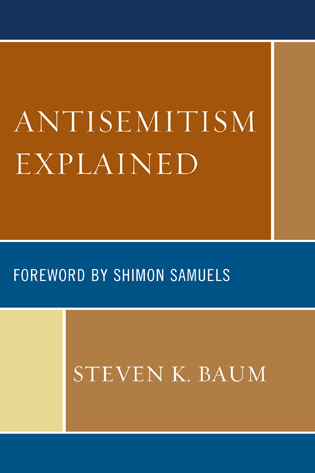 Cover image for the book Antisemitism Explained