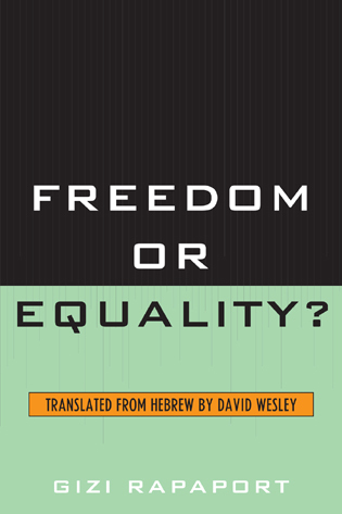 Cover image for the book Freedom or Equality?