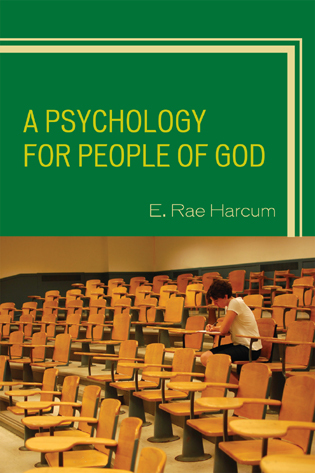 Cover image for the book A Psychology for People of God