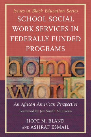 Cover image for the book School Social Work Services in Federally Funded Programs: An African American Perspective