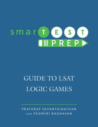 Cover image for the book smarTEST Prep: Guide to LSAT Logic Games