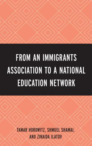 Cover image for the book From an Immigrant Association to a National Education Network