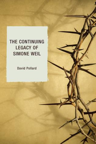 Cover image for the book The Continuing Legacy of Simone Weil