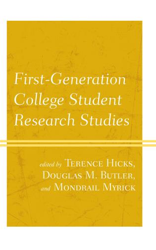 Cover image for the book First-Generation College Student Research Studies