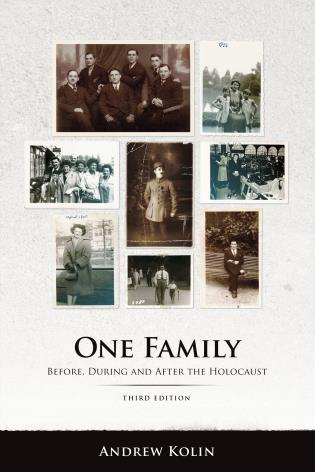 Cover image for the book One Family: Before, During and After the Holocaust, Third Edition