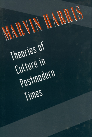 Cover image for the book Theories of Culture in Postmodern Times