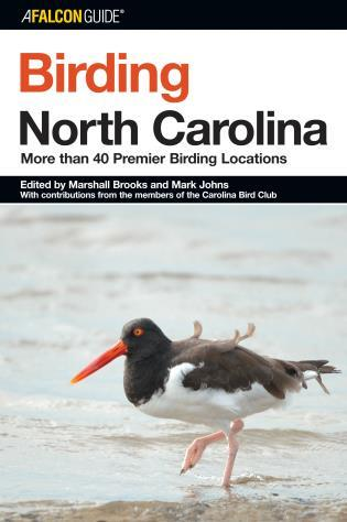 Cover image for the book Birding North Carolina: More Than 40 Premier Birding Locations, First Edition