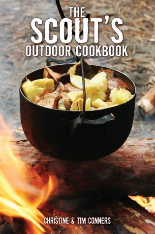 Cover image for the book Scout's Outdoor Cookbook, First Edition