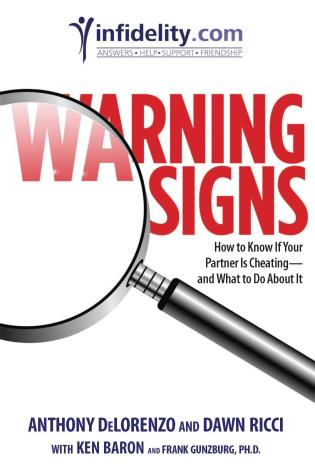 Cover image for the book Warning Signs: How to Know if Your Partner Is Cheating-and What to Do About It, First Edition