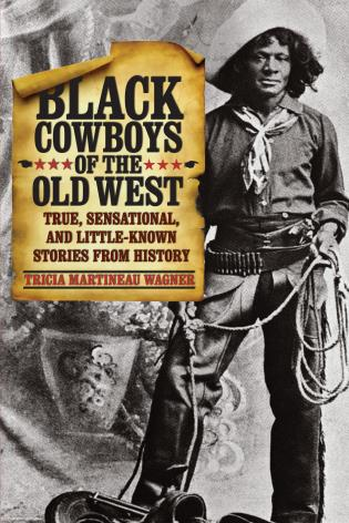 Cover image for the book Black Cowboys of the Old West: True, Sensational, And Little-Known Stories From History, First Edition