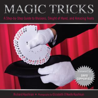 Cover image for the book Knack Magic Tricks: A Step-by-Step Guide to Illusions, Sleight of Hand