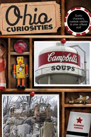 Cover image for the book Ohio Curiosities: Quirky Characters, Roadside Oddities & Other Offbeat Stuff, Second Edition