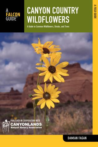 Cover image for the book Canyon Country Wildflowers: A Guide To Common Wildflowers, Shrubs, And Trees, Second Edition