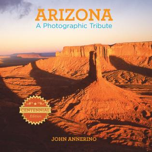 Cover image for the book Arizona: A Photographic Tribute