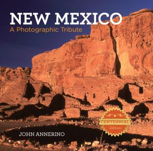 Cover image for the book New Mexico: A Photographic Tribute, First Edition