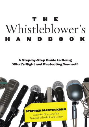 Cover image for the book Whistleblower's Handbook: A Step-by-Step Guide to Doing What's Right and Protecting Yourself